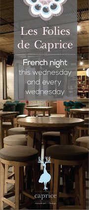 Les Folies de Caprice - French Night every Wednesday